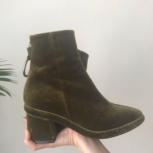 Reike Nen Shoes - Reike Nen • Velvet Ring Middle Boot